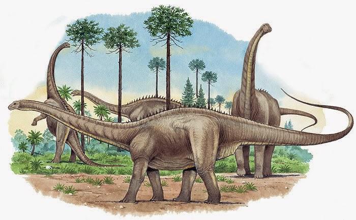 Apatosaurus Fosil Makhluk Penguasa Samudera