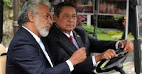 Image of Xanana Gusmao and Susilo Bambang Yudhono