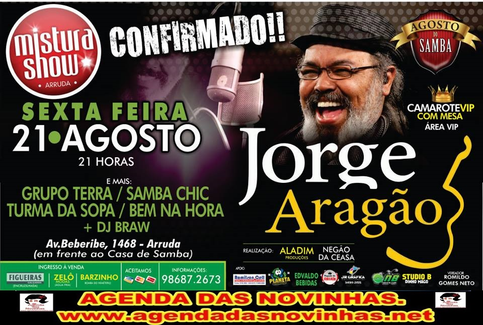 MISTURA SHOW - JORGE ARAGÃO.