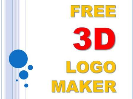 FREE 3D MAKER LOGO CREATOR