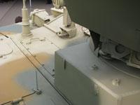 Часть боекомплекта танка вынесена в изолированный