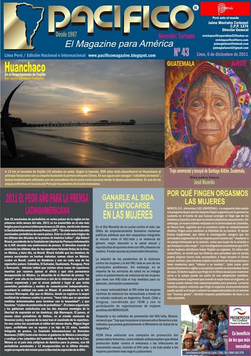 Revista Pacífico Nº 43 Turismo