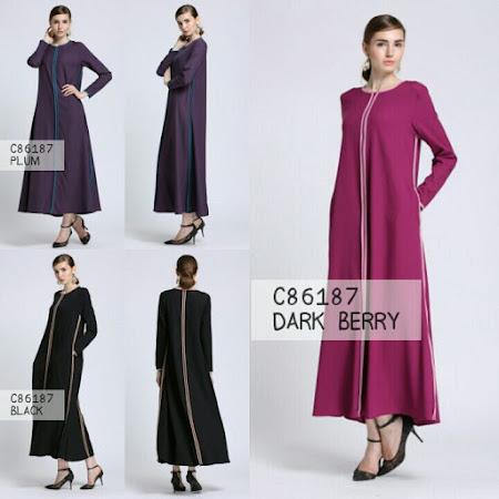 Pelbagai Koleksi Jubah Anda Miliki Trendy Terdapat Dalam Pelbagai Warna