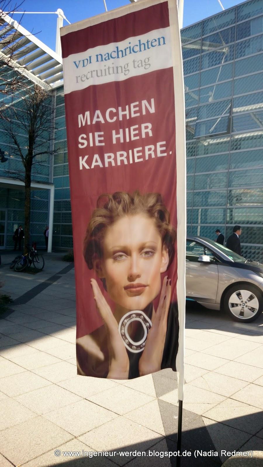 VDI nachrichten recruiting Tag in München (03/2014)