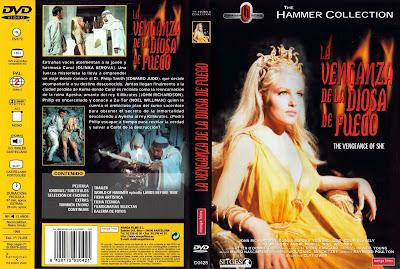 Cover, caratula, dvd: She, la diosa del fuego | 1935 | She