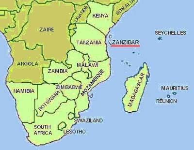 Mombasa zanzibar map gumiabroncs Choice Image