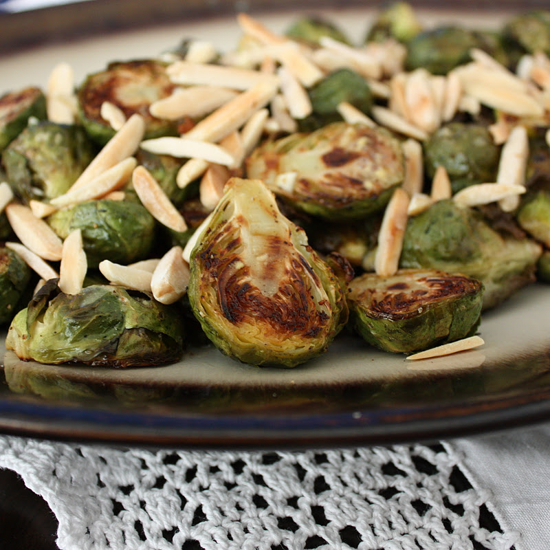Maple Dijon Brussel Sprouts - Get Off Your Tush and Cook!