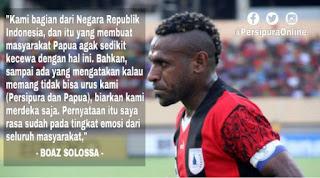 Persipura dan masyarakat Papua kecewa