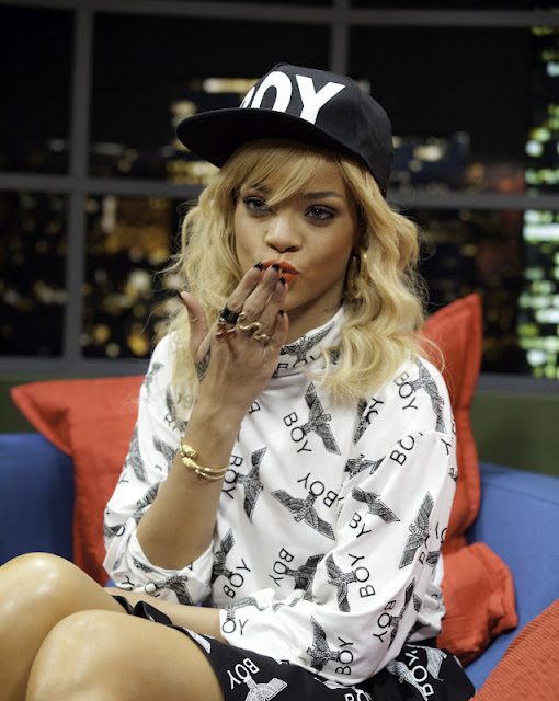 Rihanna Boy London Jonathan Ross Show 2012