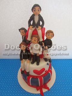 bolos One Direction bragança