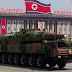 North Korean NK08 Long Range Ballistic Missile