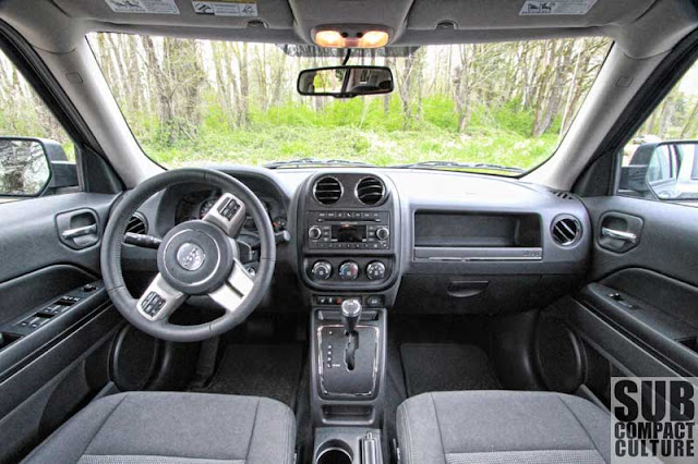2012 Jeep Patriot Latitude 4x4 interior - Subcompact Culture