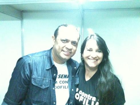 Marta Lança e Frank Aguiar - Juntos Contra as Drogas e a Pedofilia