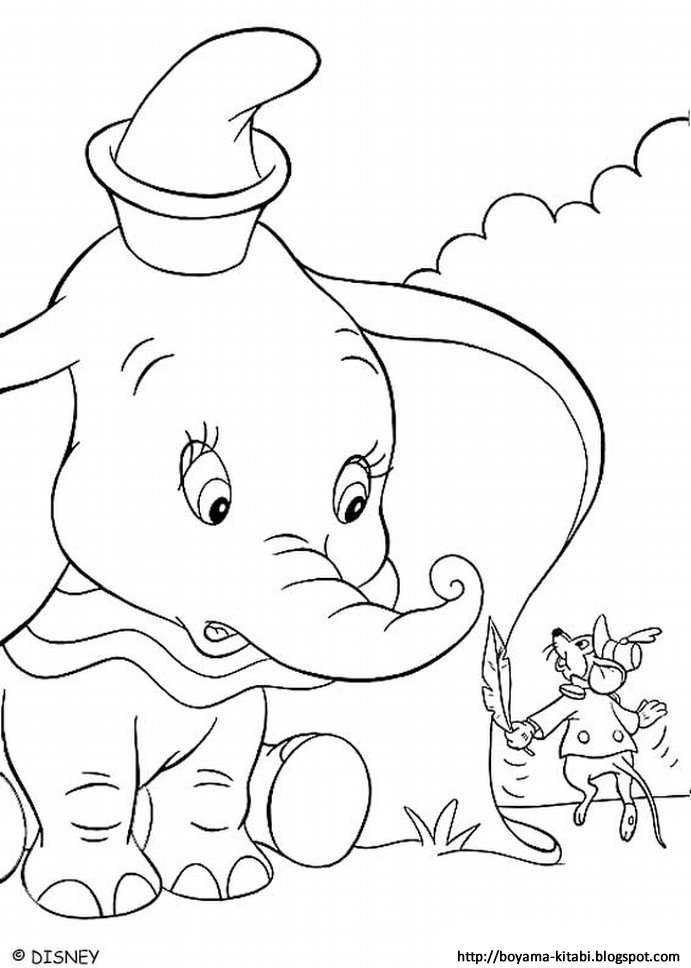 Dumbo Coloring 02 | The Coloring Pages - The Coloring Book ...