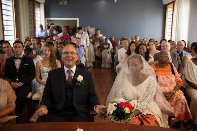 le marié rit aux éclats - mairie du Gosier