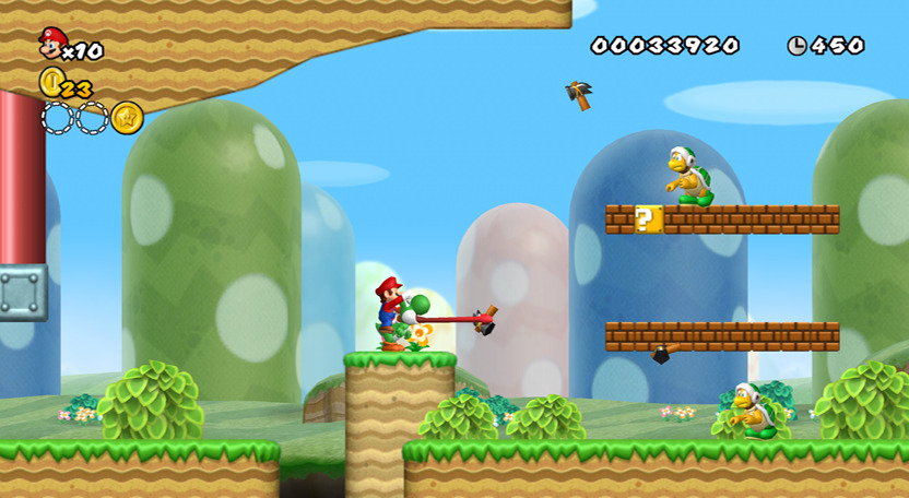 Critique new super mario bros wii gam3r 39 s blog - Passage secret mario bros wii ...