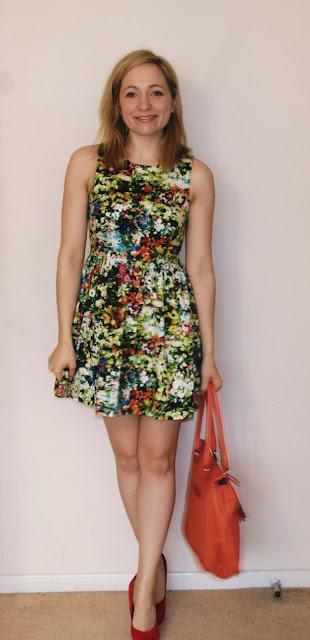 Dress floral SS13