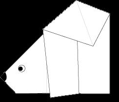 Cara Membuat Origami Beruang