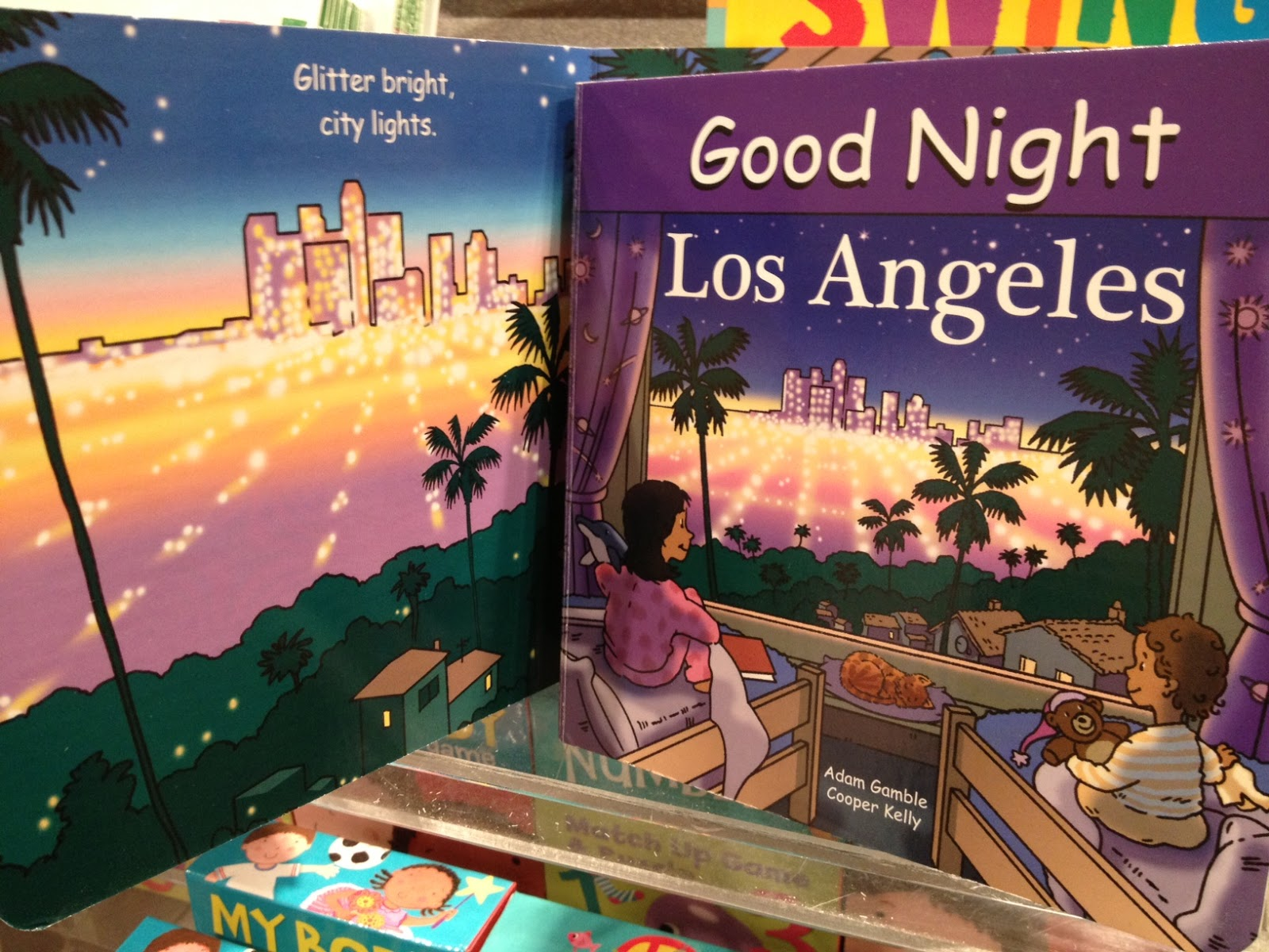 Cityscape from the book Good Night Los Angeles