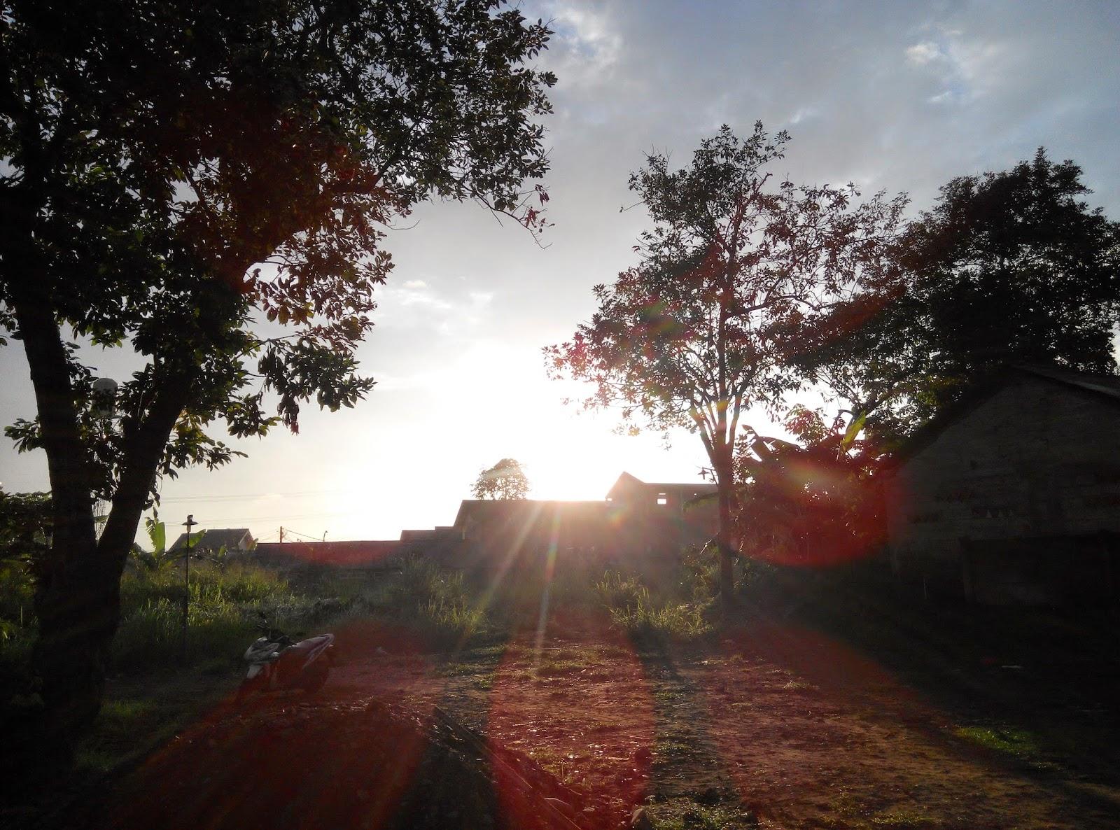 Indahnya Matahari Terbit Dipagi Hari