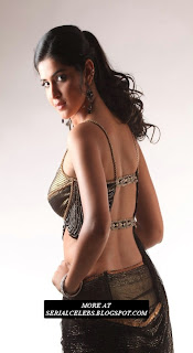 Deeksha Seth in Backless dress