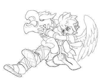 #32 Pit Coloring Page