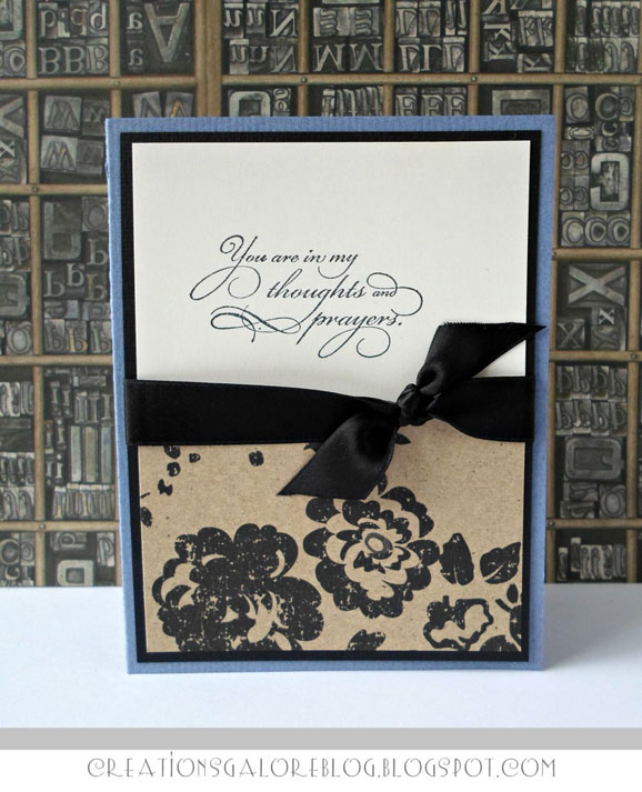 Sympathy Card (via shezigzags.blogspot.com)