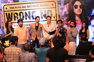 Wrong Number Music Launch at Atrium Mall Karachi