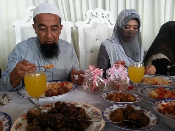 (Gambar) Majlis Pernikahan Ustaz Azhar Idrus - Isteri Ke 3