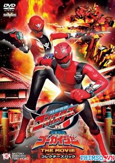 Hải Tặc Vs. Siêu Điệp Viên - Tokumei Sentai Go-busters Vs Kaizoku Sentai Gokaiger The Movie