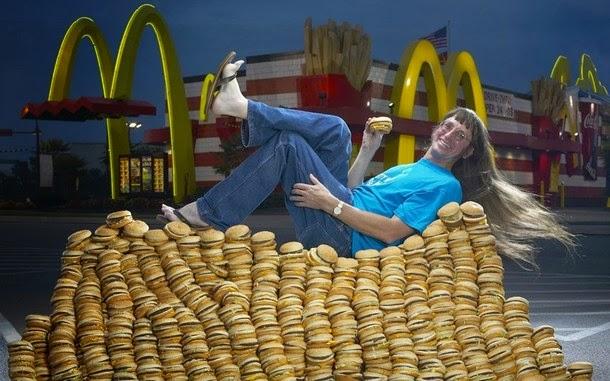 3. A maior quantidade de Big Mac já consumida por alguém