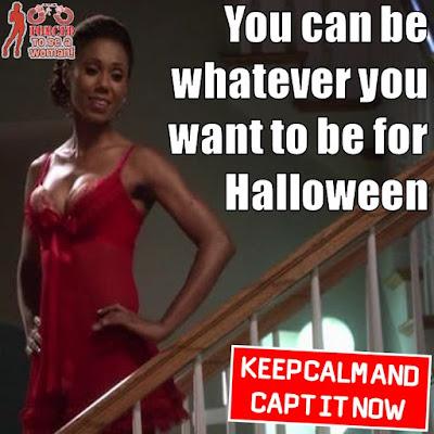 Late Halloween Caption
