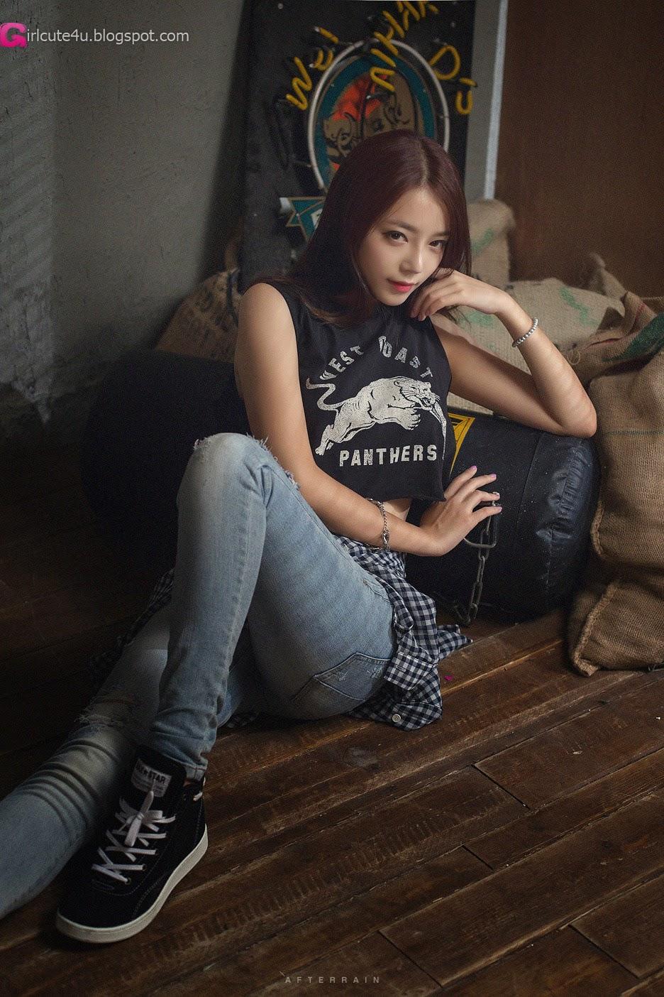 4 The wonderful Ji Yeon in 3 new sets - very cute asian girl - girlcute4u.blogspot.com