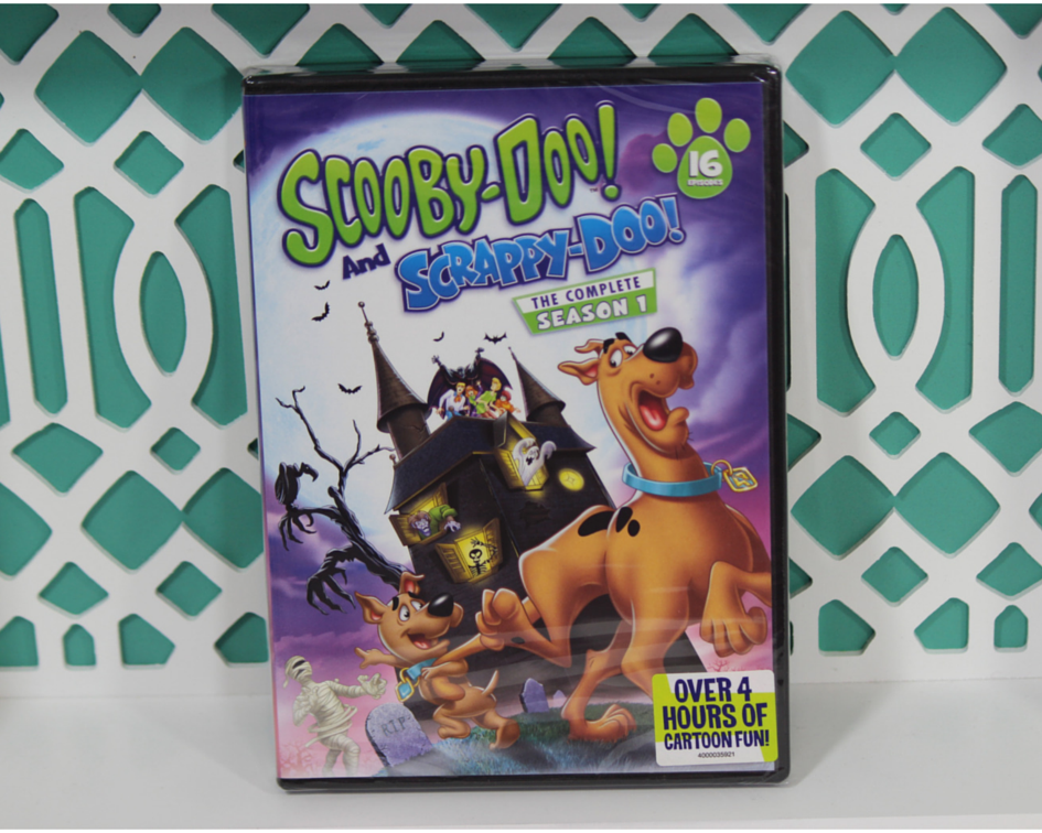 Scooby-Doo and Scrappy-Doo Season 1 on DVD - Mommy Katie