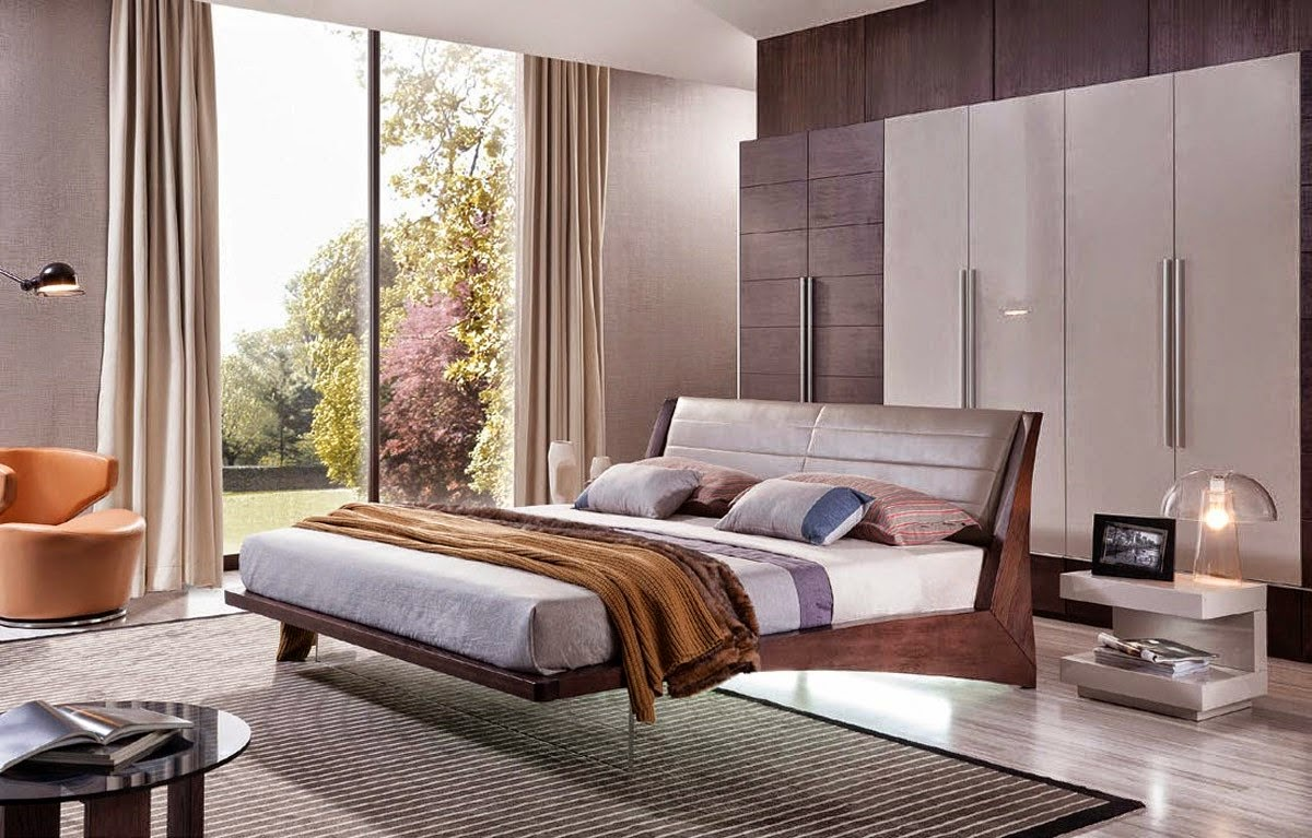 Chambre moderne en perspective – lombards