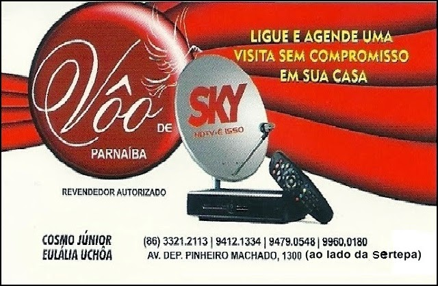 Vôo de Sky - TV Digital em sua casa!