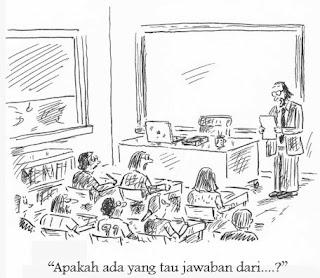Jokes : Pertanyaan Mahasiswa Hukum kepada Dosennya