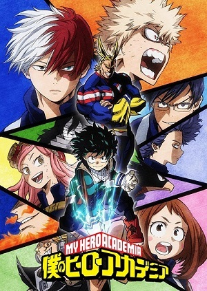Anime Desenho Boku no Hero Academia - 2ª Temporada Legendada Completa 2017 Torrent