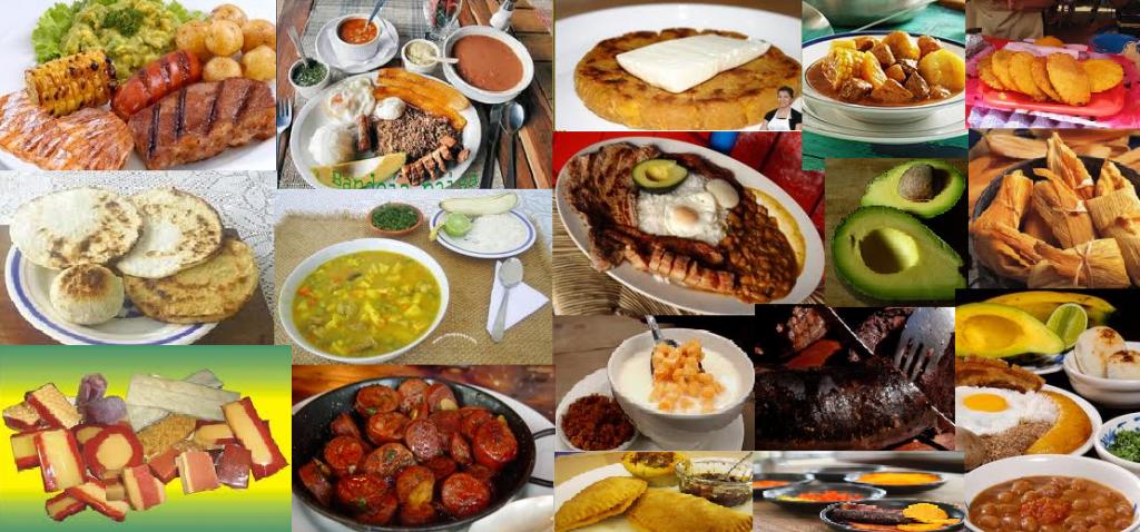 Comidas típicas Colombiana.: Comidas típicas de Colombia.