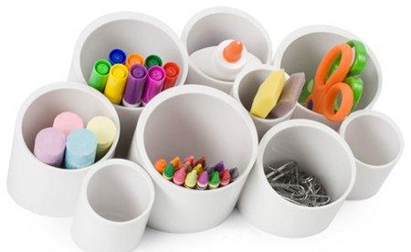 Ideas para reciclar tubos de pl stico - Accesorios hogar originales ...