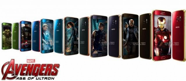 Samsung Galaxy S6 and S6 - Avengers Edition