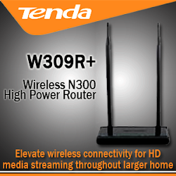 Tenda W309R+ Wireless Router