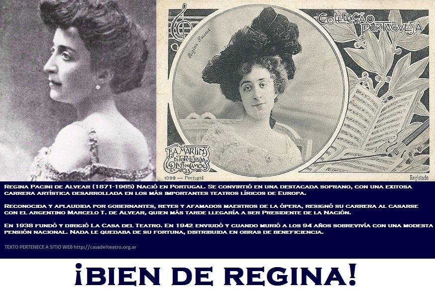 REGINA PACINI DE ALVEAR.
