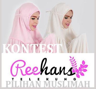 Pemenang Kontest Telekung Reehans Pilihan Muslimah