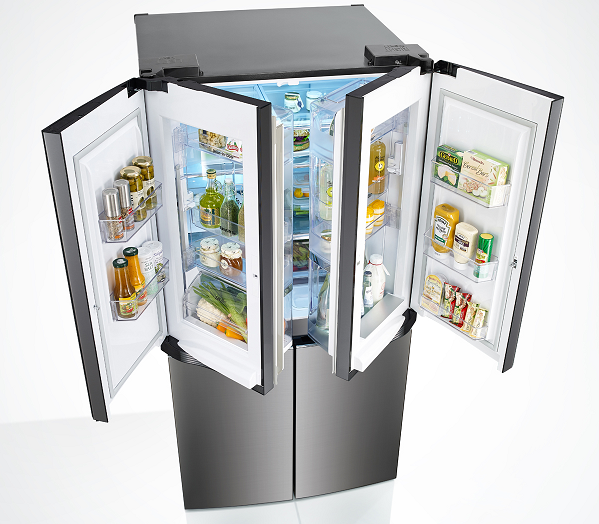 LG Dual DID refrigerator