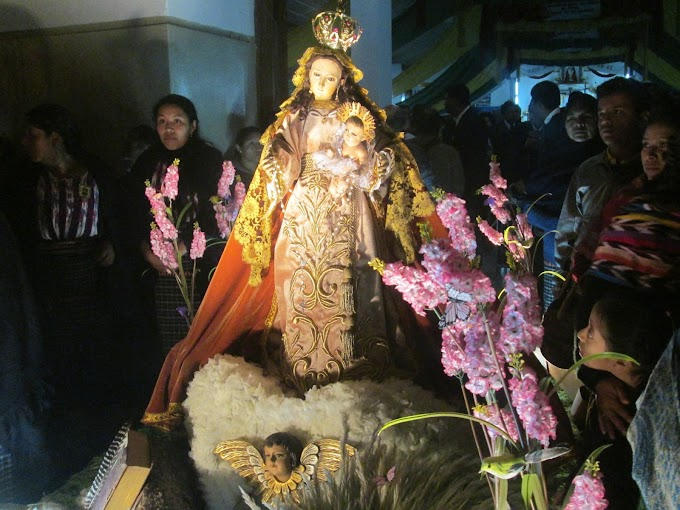 Solemne celebración de la Virgen de Reyes en San Juan Sacatepéquez