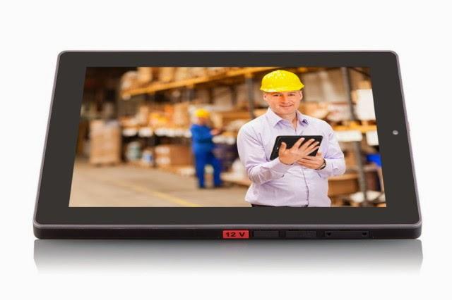 La Viega Tablet es ideal para trabajos con polvo, agua y golpes