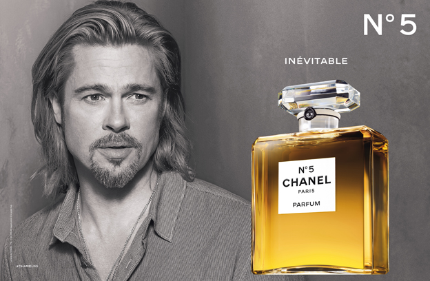 Chanel No 5 campaign with Brad Pitt