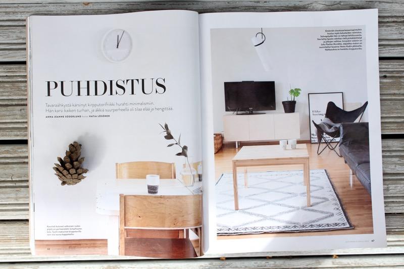 minimalistin koti