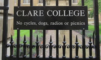 Welding clare college cambrdige